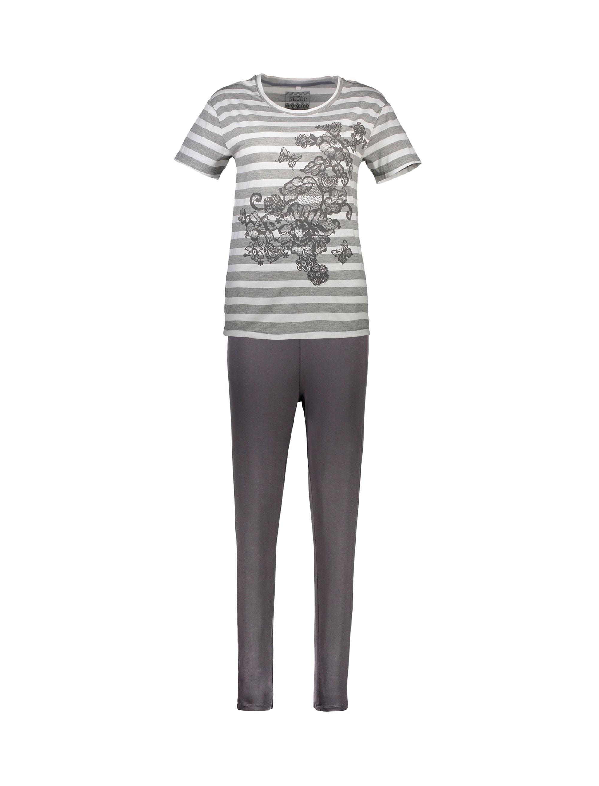 تی شرت و شلوار راحتی زنانه - لانژ اند اسلیپ              👗