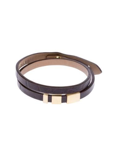دستبند طلا مردانه - تاج درسا