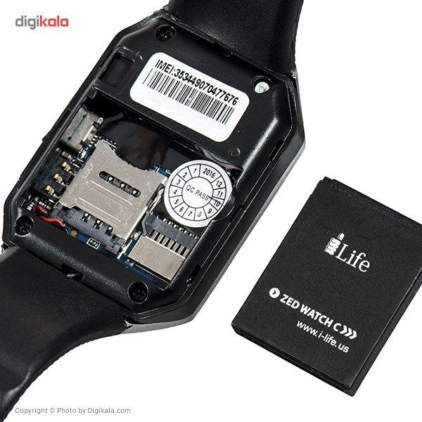 ساعت هوشمند آی لایف مدل Zed Watch C Black main 1 8