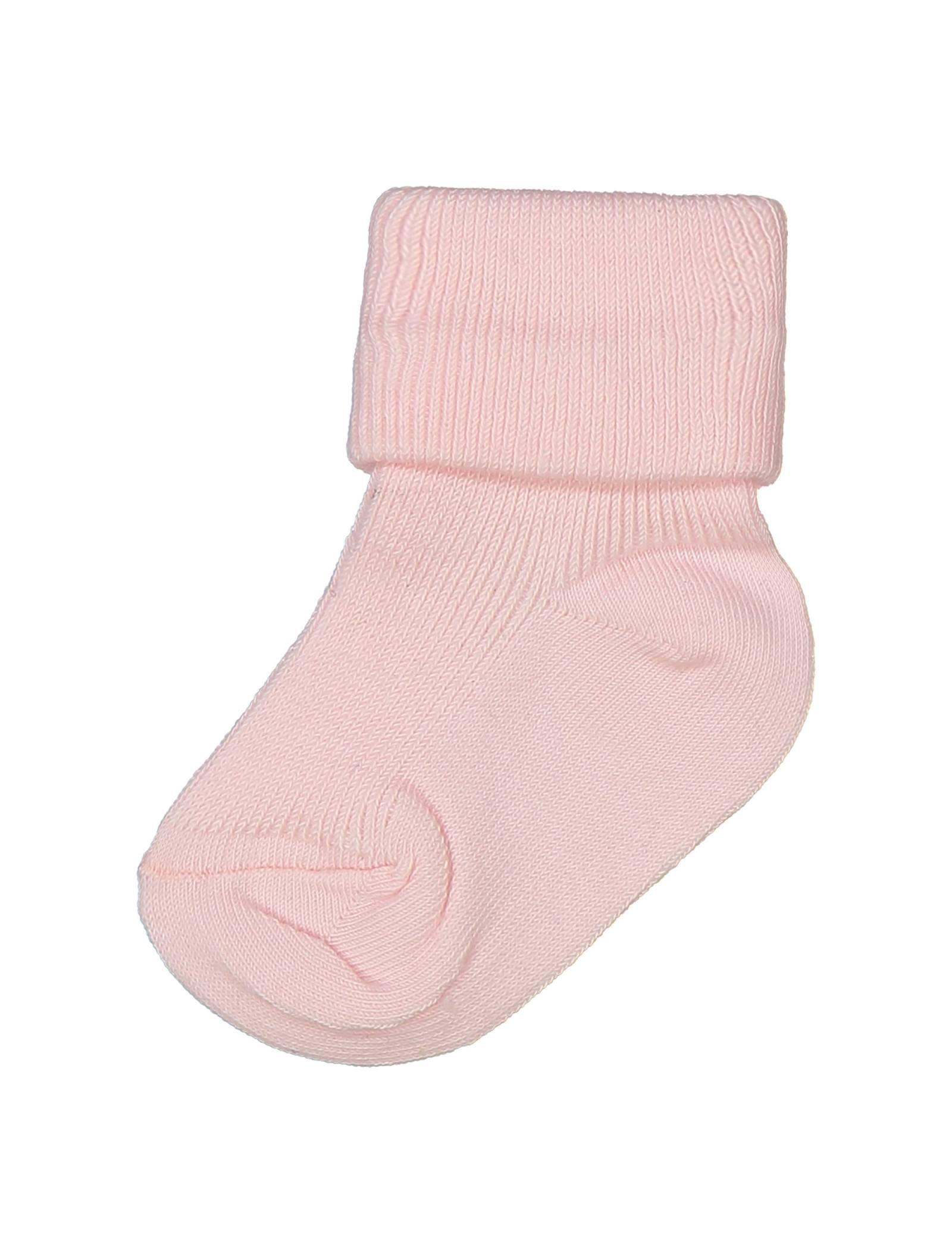 جوراب نخی نوزادی - ایدکس - صورتي - 2