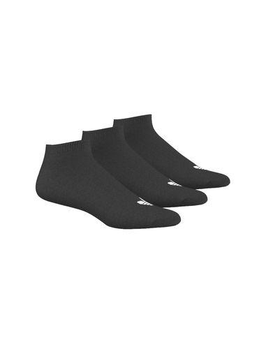 جوراب نخی ساق کوتاه بزرگسال بسته 3 عددی Trefoil - آدیداس