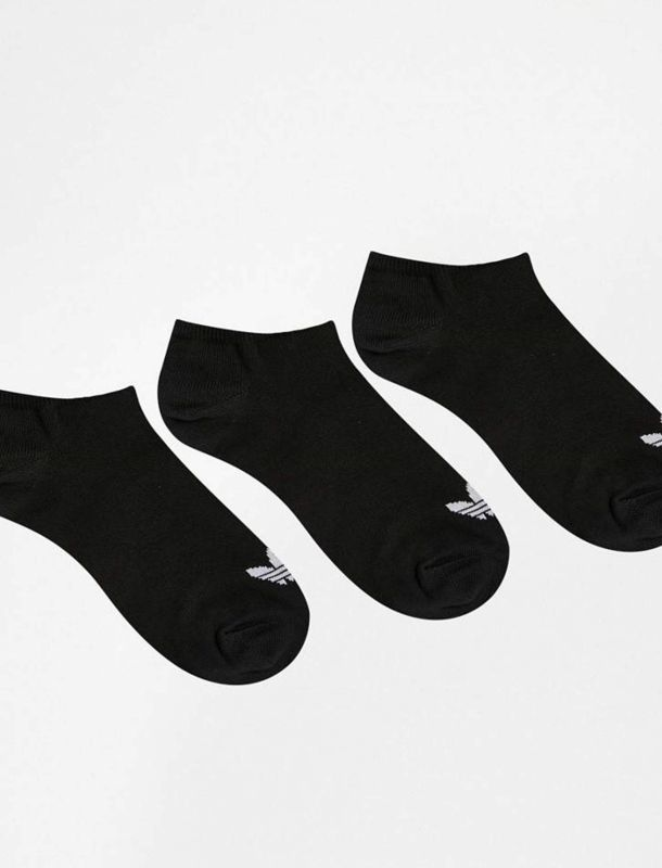 جوراب نخی ساق کوتاه بزرگسال بسته 3 عددی Trefoil
