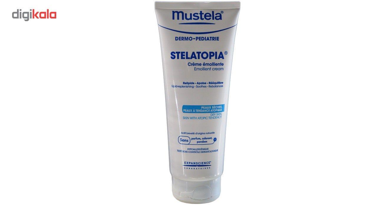 کرم نرم کننده  صورت و بدن  موستلا مدل استلاتو پیا حجم 200میلی لیتر main 1 1