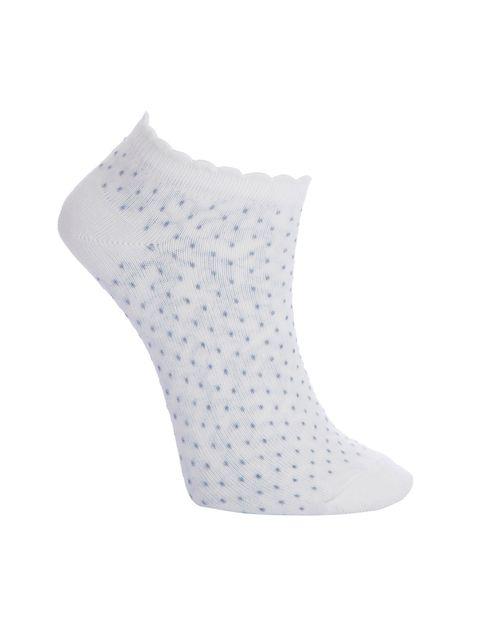 جوراب ساق کوتاه زنانه بسته 4 عددی - چندرنگ  - 2