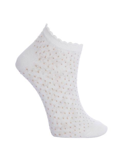 جوراب ساق کوتاه زنانه بسته 4 عددی - چندرنگ  - 3