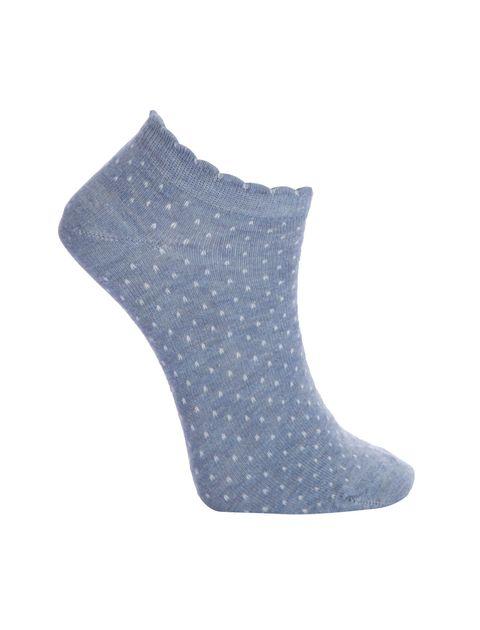جوراب ساق کوتاه زنانه بسته 4 عددی - چندرنگ  - 4