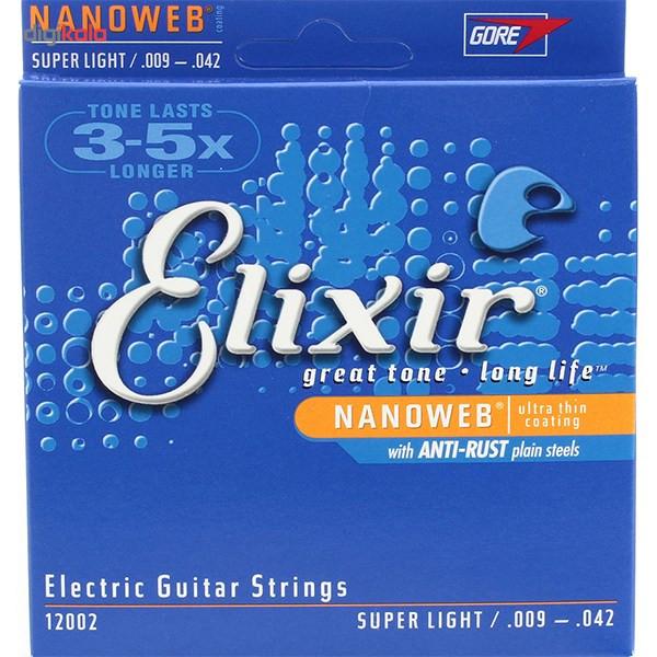 سیم گیتار الکتریک الیکسیر مدل 12002