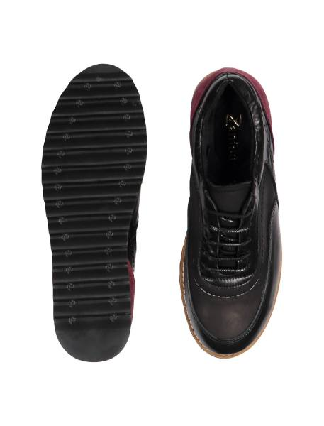 کفش تخت زنانه - مشکي - 1