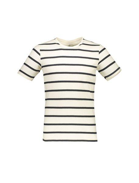تی شرت نخی آستین کوتاه مردانه -  - 1