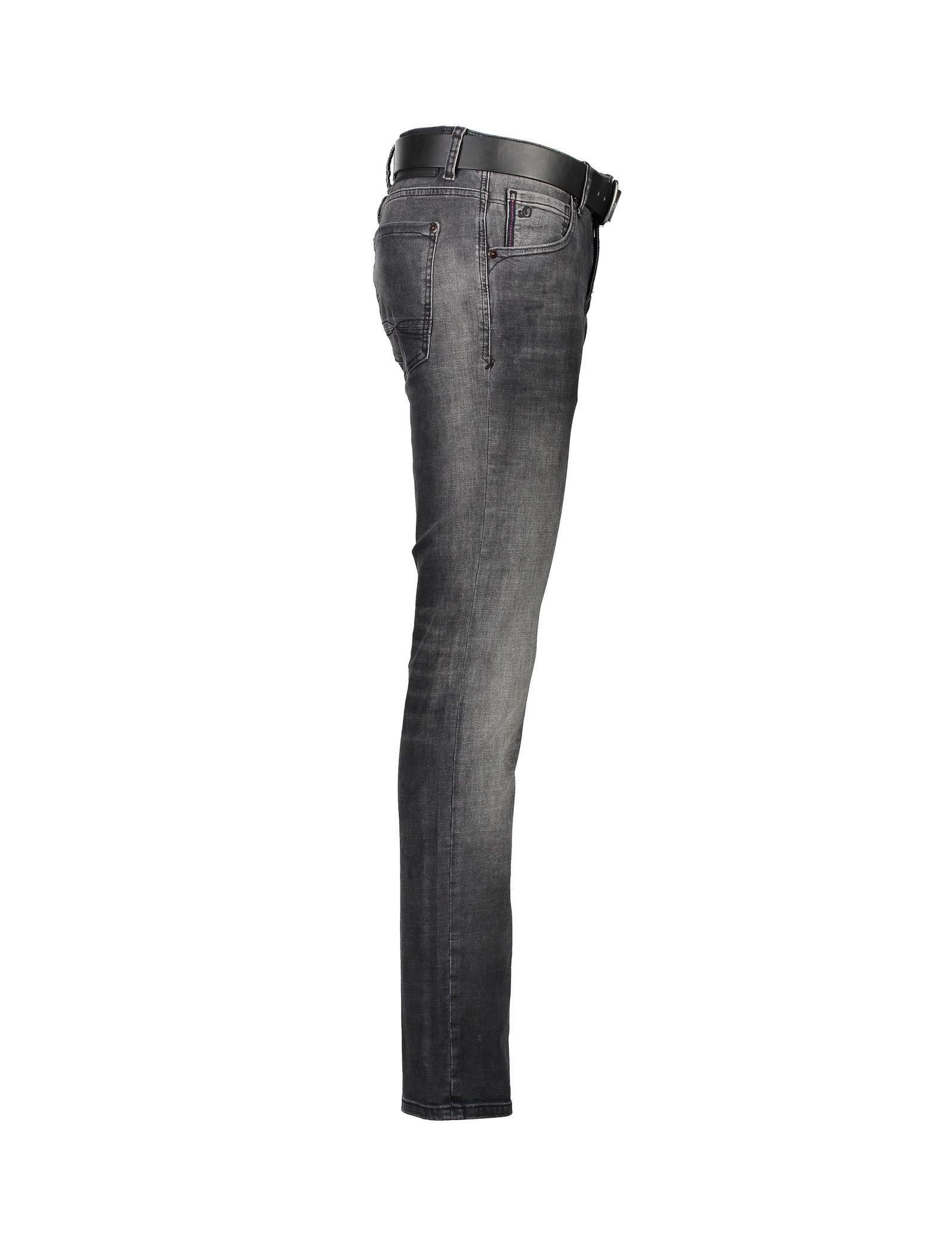 شلوار جین راسته مردانه - اس.اولیور - طوسي تيره - 3