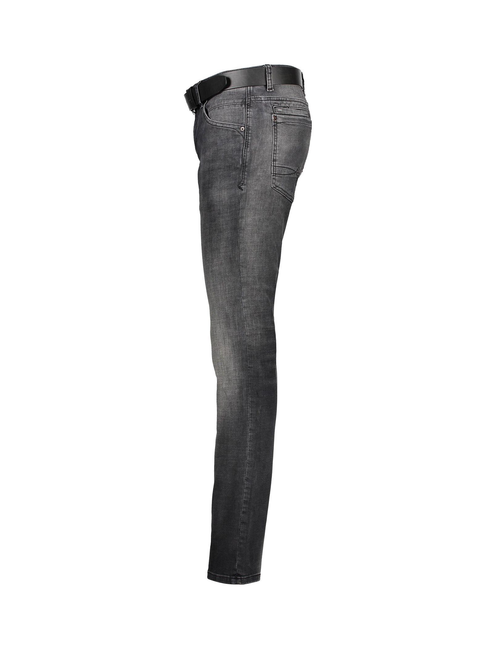 شلوار جین راسته مردانه - اس.اولیور - طوسي تيره - 4