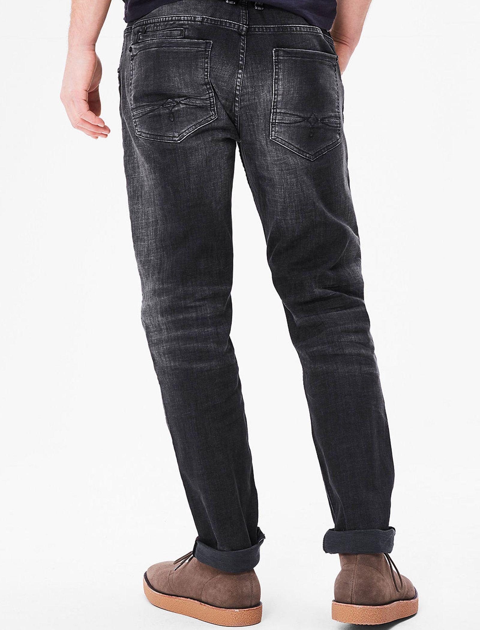 شلوار جین راسته مردانه - اس.اولیور - طوسي تيره - 6