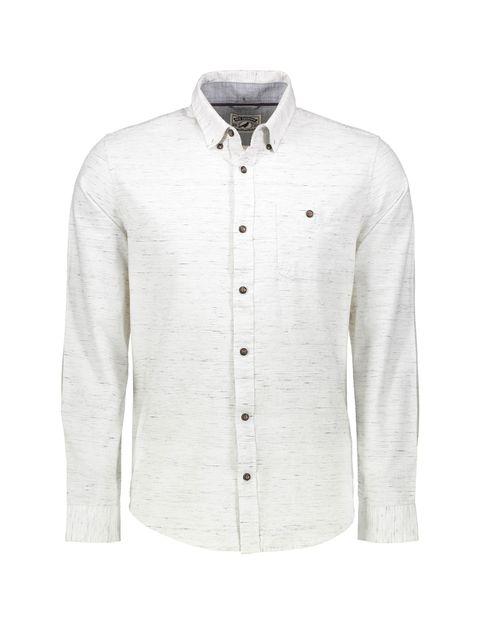 پیراهن نخی مردانه - رد هرینگ - سفيد وانيلي - 1