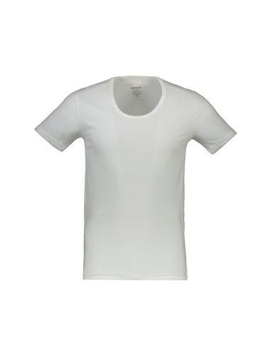 زیرپوش نخی آستین کوتاه مردانه - گارودی