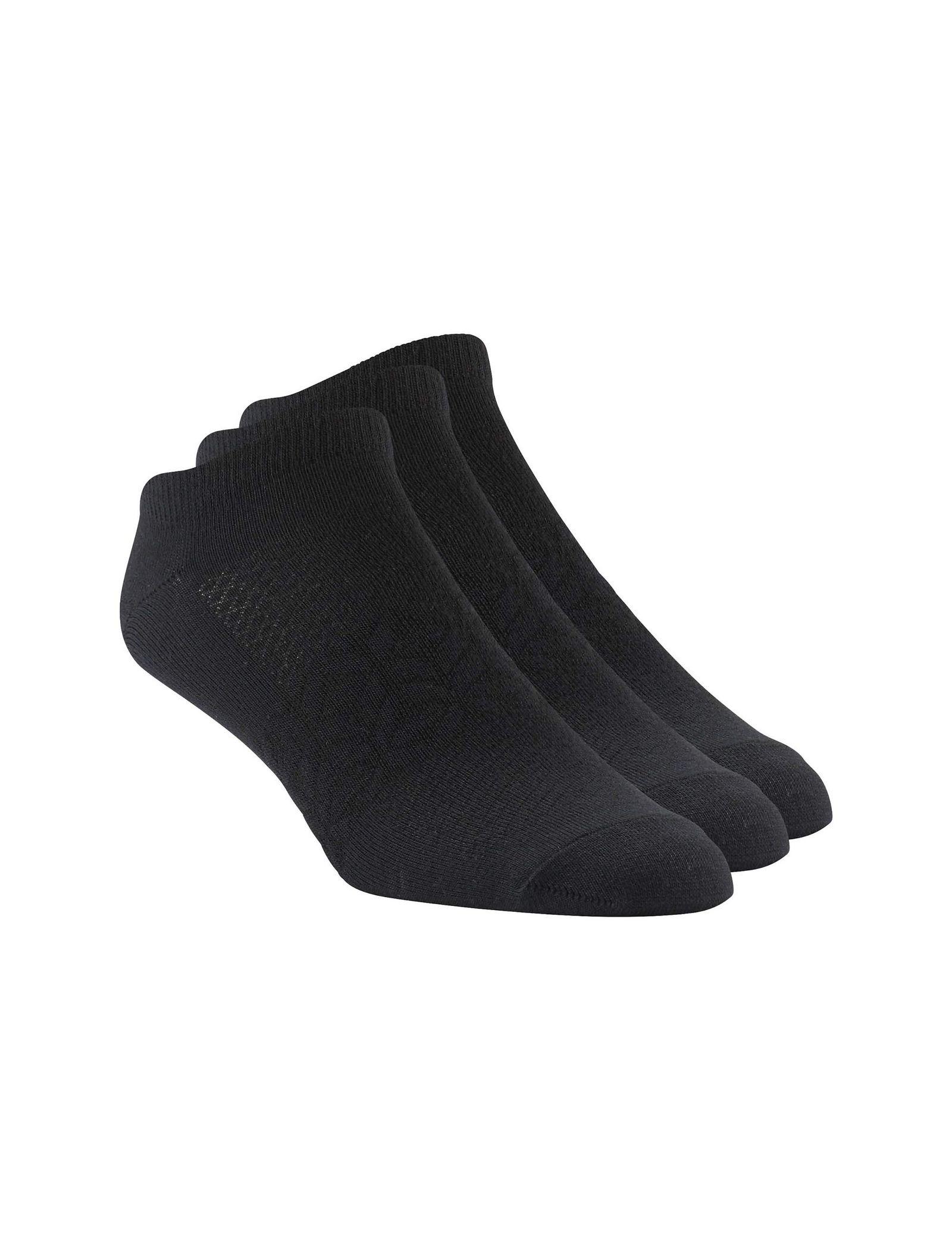 جوراب ورزشی بدون ساق مردانه بسته 3 عددی - ریباک - مشکي - 1