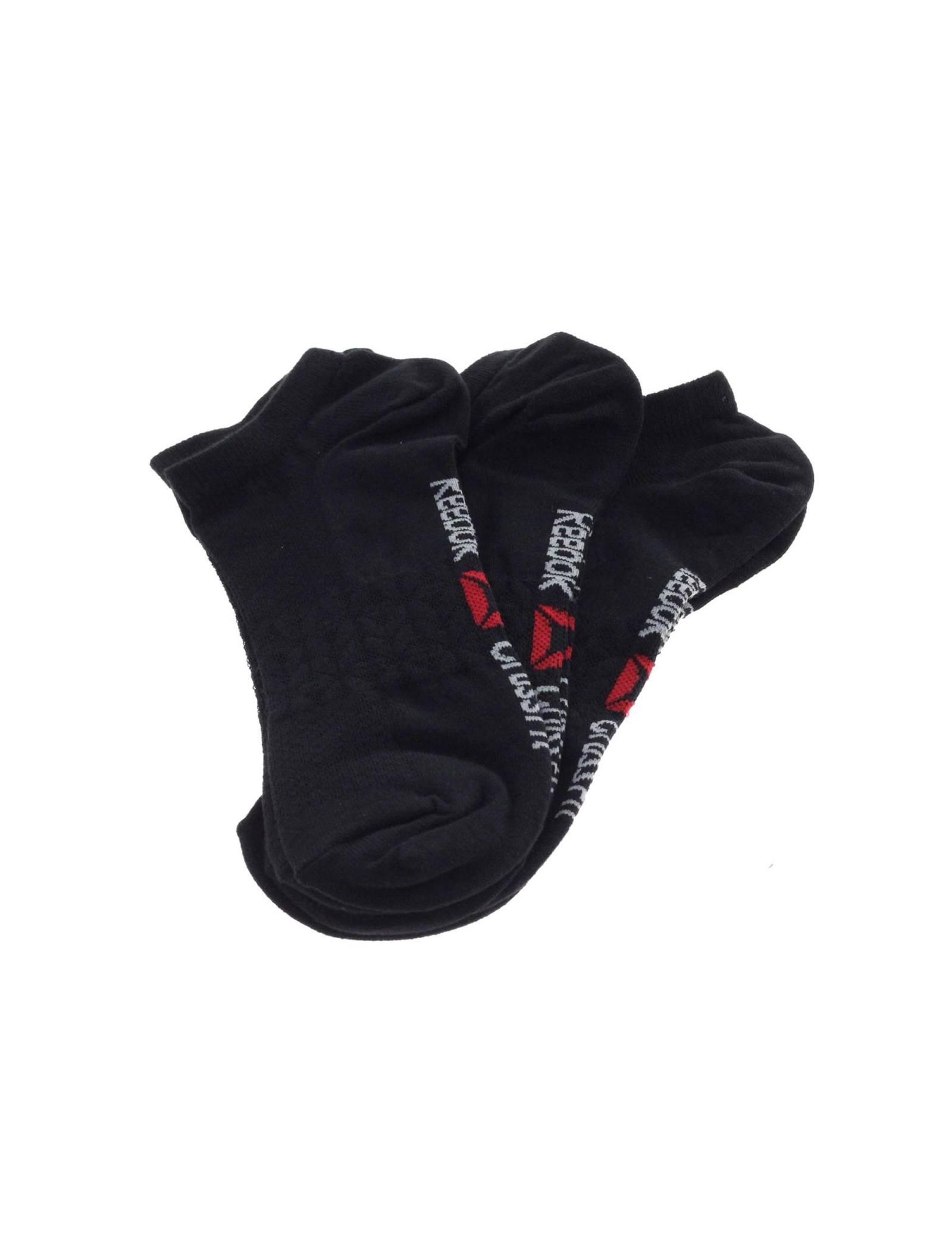 جوراب ورزشی بدون ساق مردانه بسته 3 عددی - ریباک - مشکي - 3