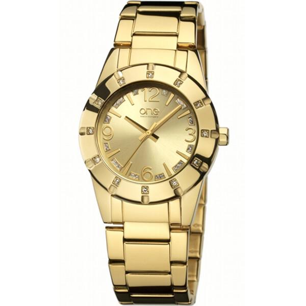 ساعت مچی عقربه ای زنانه وان واچ مدل OL3017DD21E
