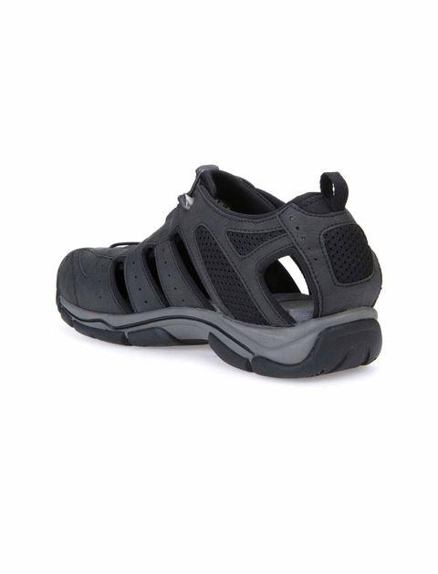 کفش پیاده روی بندی مردانه - مشکي - 5