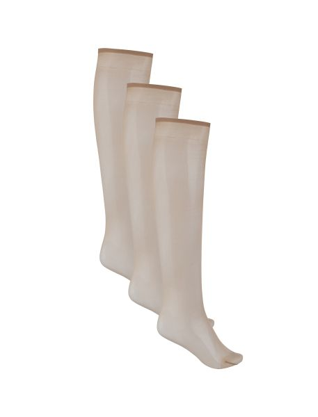 جوراب ساق بلند زنانه بسته 3 عددی - کالکشن