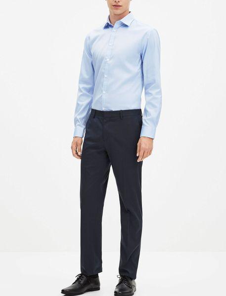 شلوار رسمی مردانه - سرمه اي - 7