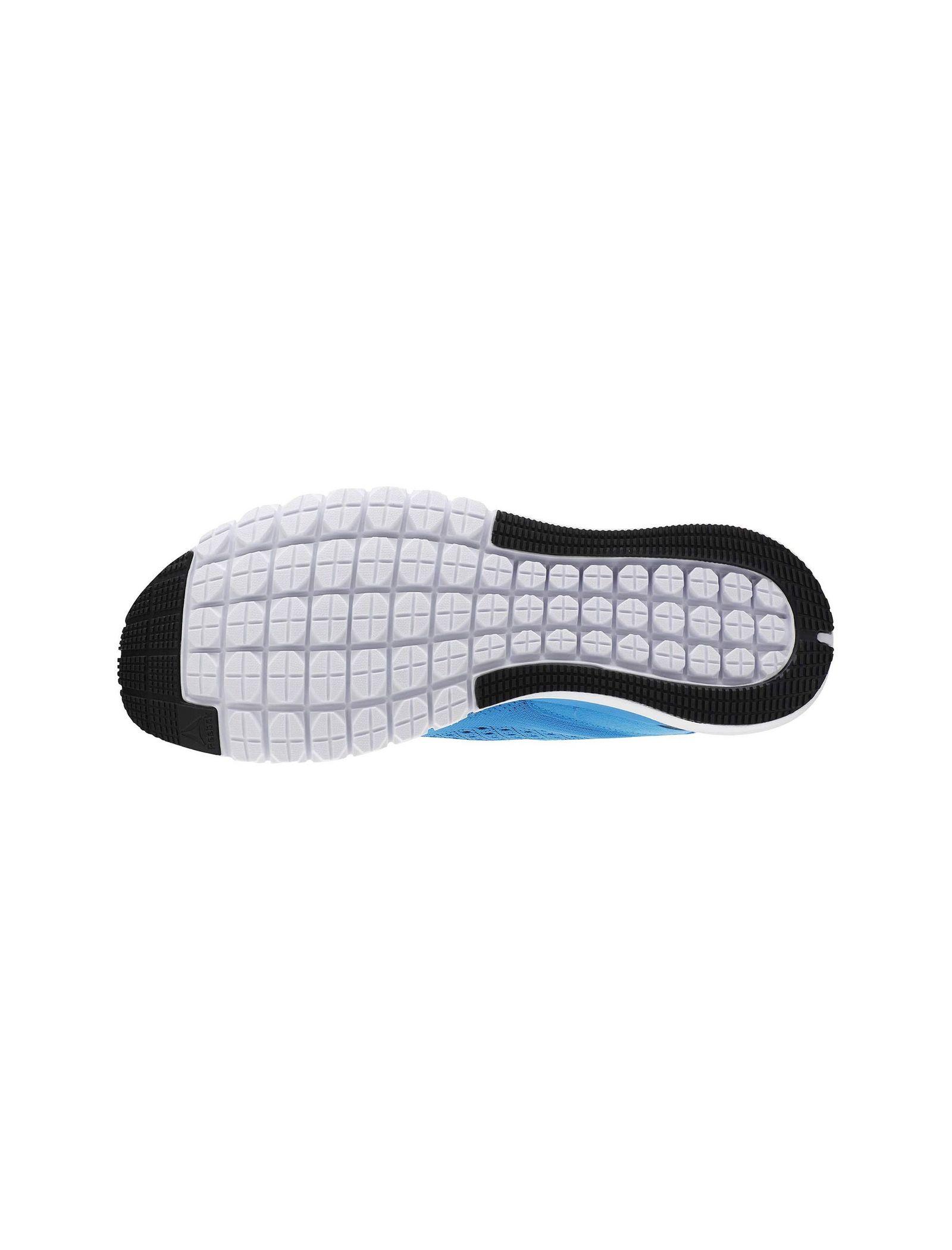 کفش دویدن بندی مردانه Print Smooth Ultraknit - ریباک - آبي - 2