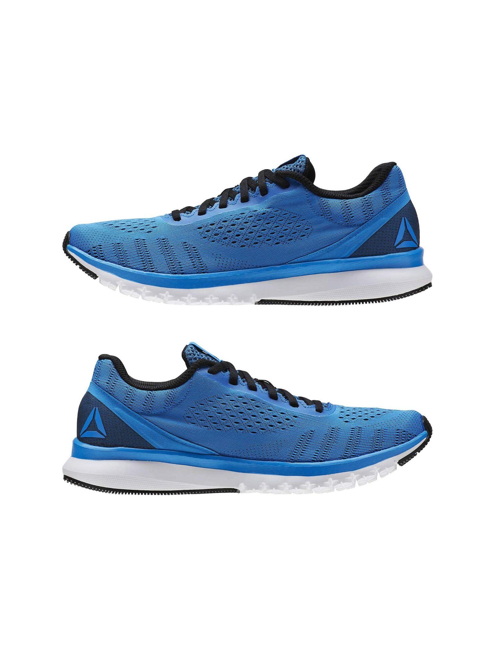 کفش دویدن بندی مردانه Print Smooth Ultraknit - ریباک - آبي - 3