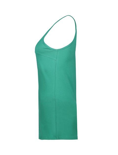 تاپ نخی زنانه - سبز - 3