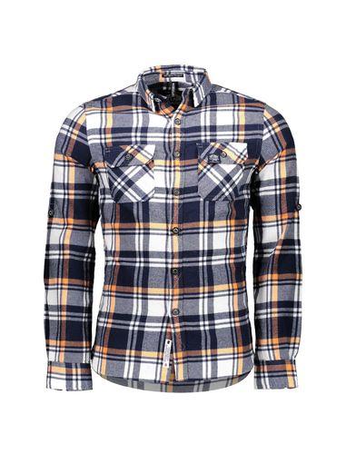 پیراهن نخی مردانه Refined Lumberjack