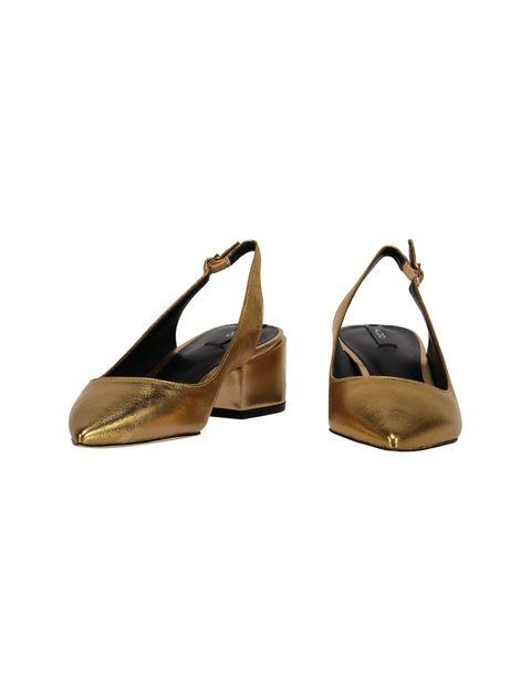 کفش پاشنه بلند چرم زنانه - آلدو - طلايي - 3