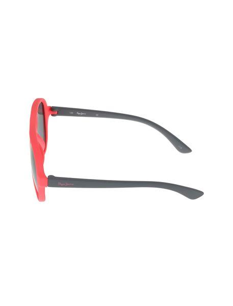 عینک آفتابی خلبانی بچگانه - طوسي و صورتي فسفري - 3