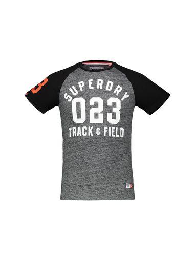 تی شرت نخی آستین کوتاه مردانه Track & Field