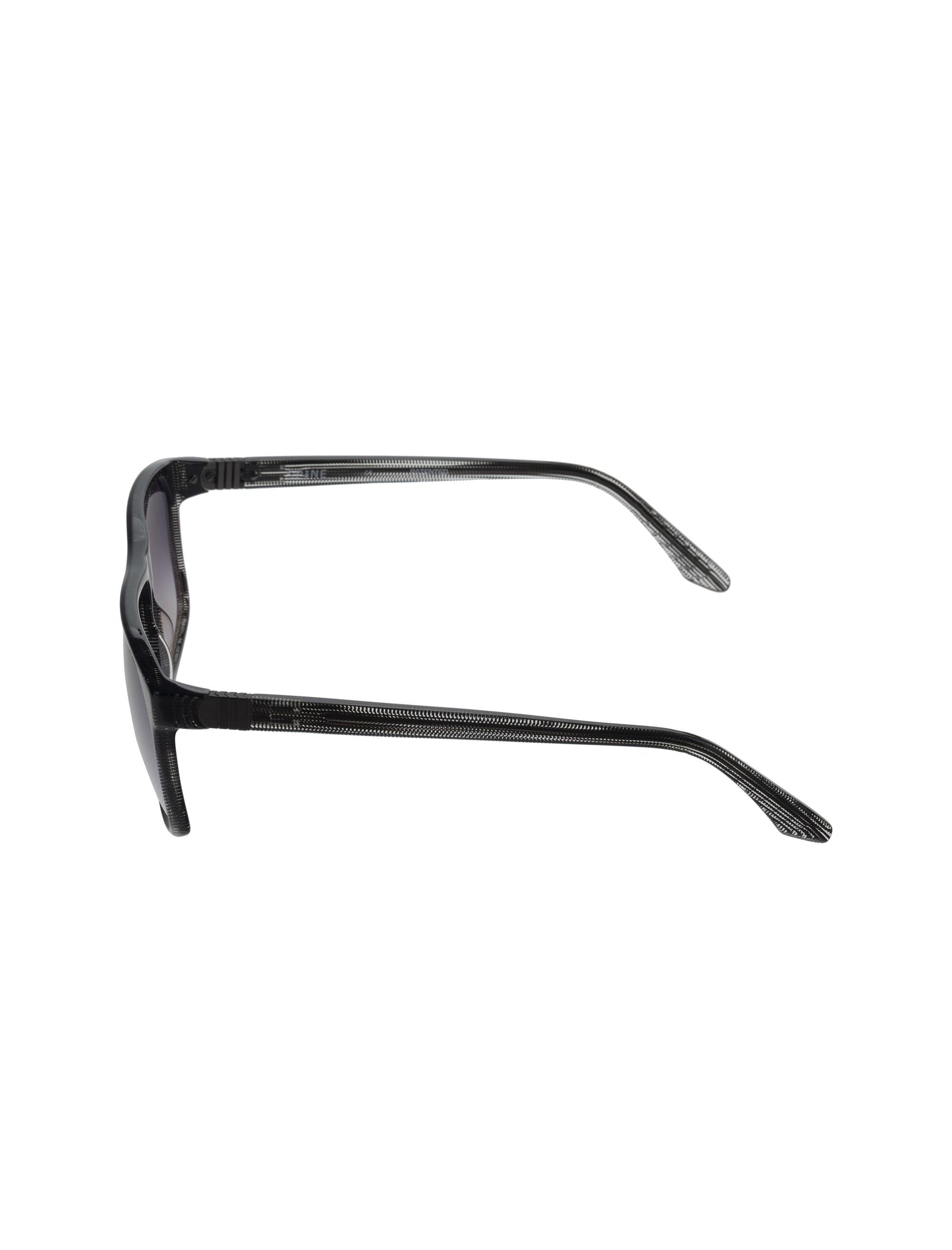عینک آفتابی خلبانی مردانه - اسپاین - بي رنگ و مشکي - 3