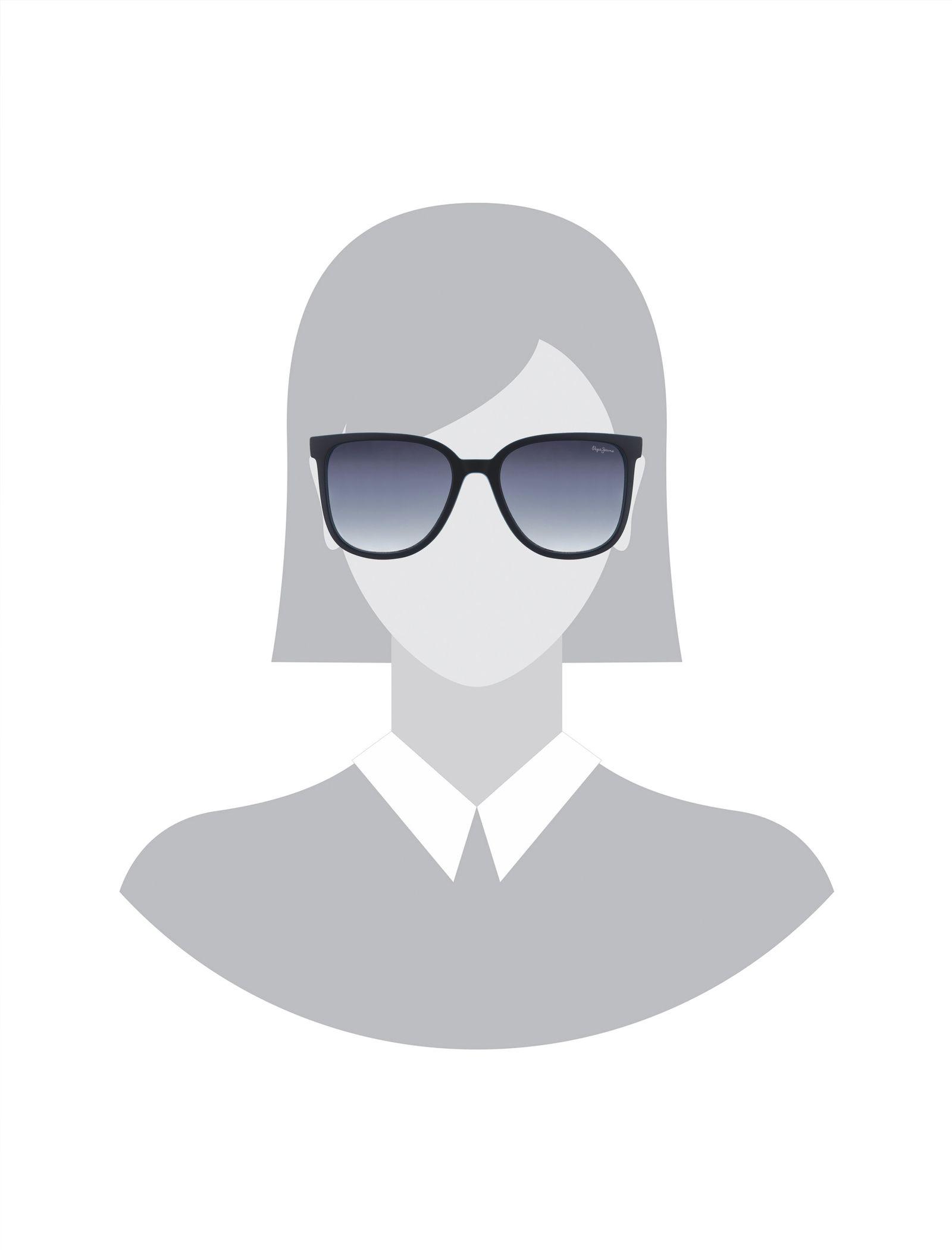 عینک آفتابی ویفرر زنانه - پپه جینز - سرمه اي - 5