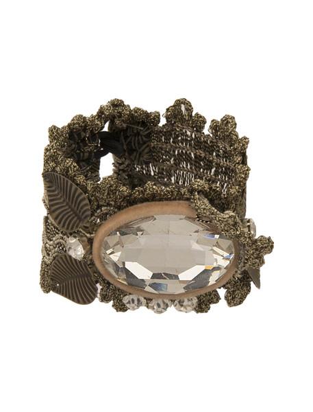 دستبند دست سازنگین دار زنانه - مهران رفیعیان سایز L