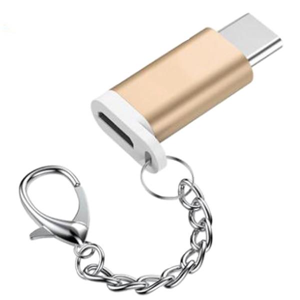مبدل Micro USB به Type-C  ریمکس مدل KEYCHAIN-231