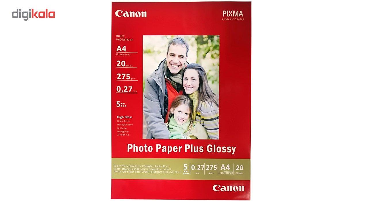 کاغذ عکس کانن مدل PLUS GLOSSY سایزA4 بسته 20 عددی main 1 1