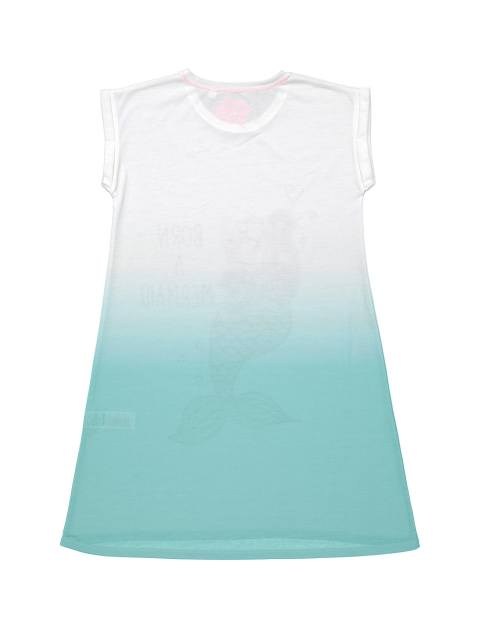 لباس خواب دخترانه - بلوزو - آبي - 2