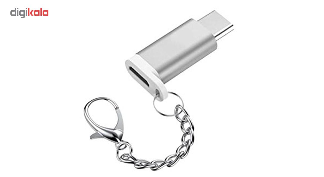 مبدل Micro USB به Type-C  ریمکس مدل KEYCHAIN-231 main 1 3