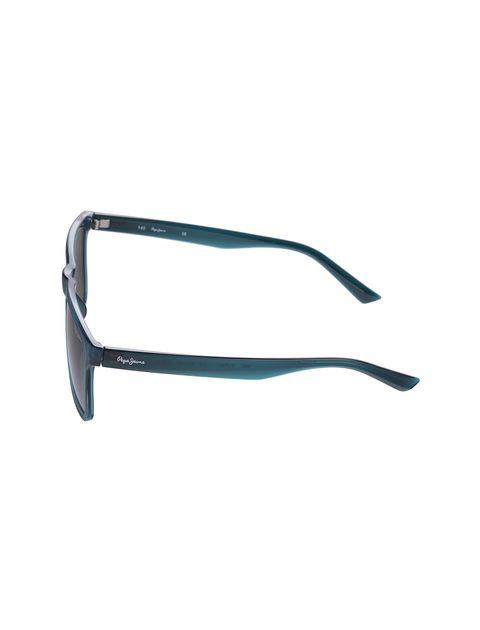 عینک آفتابی مستطیل زنانه - آبي - 3