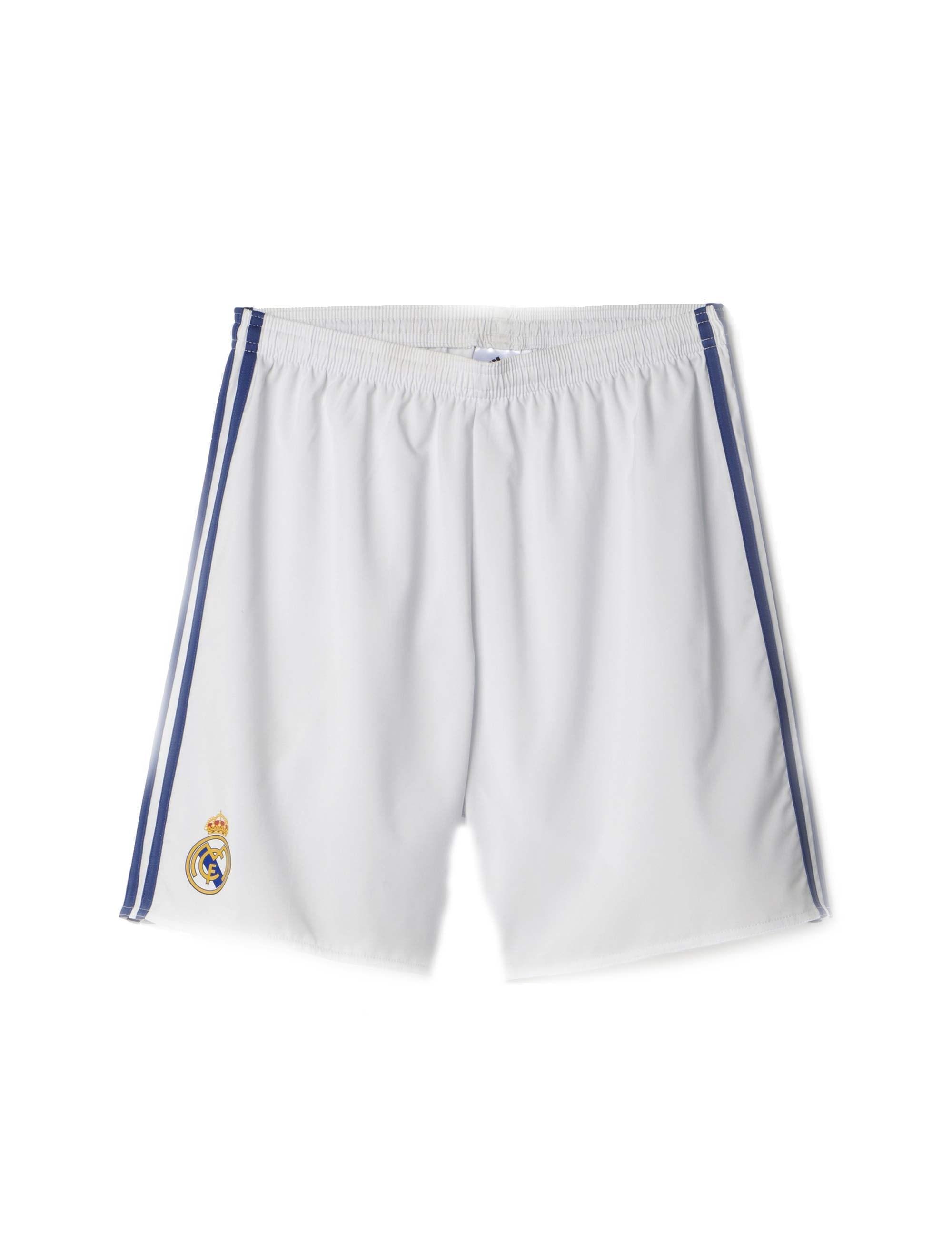 شلوارک ورزشی مردانه آدیداس مدل Real Madrid Home Replica - سفيد - 2