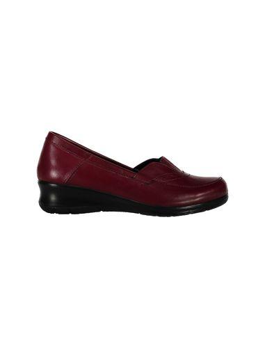 کفش چرم لژدار زنانه - پاتن چرم