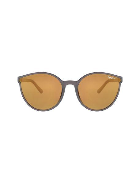 عینک آفتابی پروانه ای زنانه - زغالي - 1