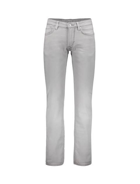شلوار جین راسته مردانه - طوسي روشن - 1