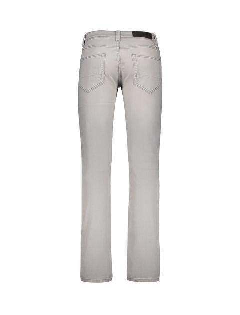 شلوار جین راسته مردانه - طوسي روشن - 2