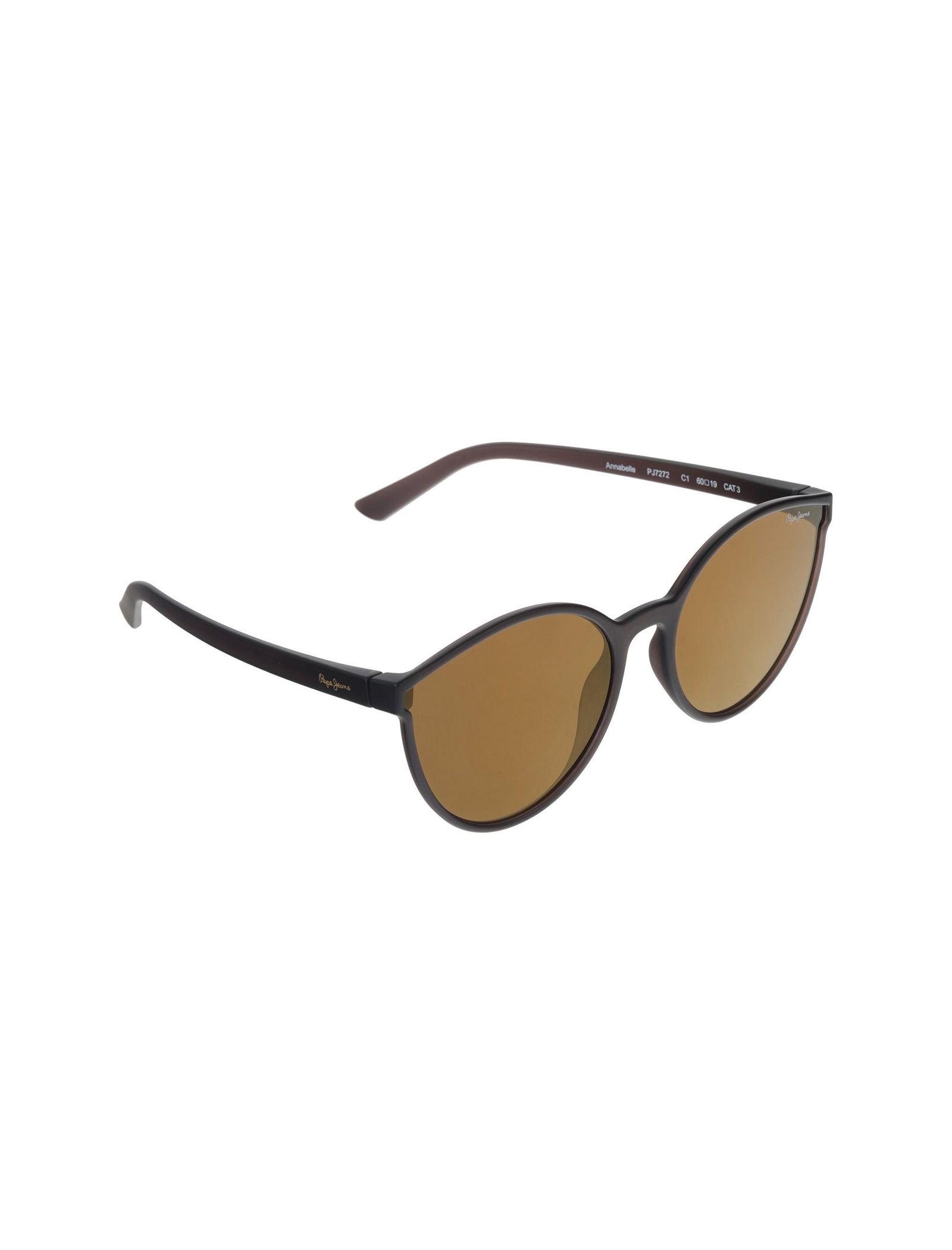 عینک آفتابی پروانه ای زنانه - پپه جینز - زغالي - 2