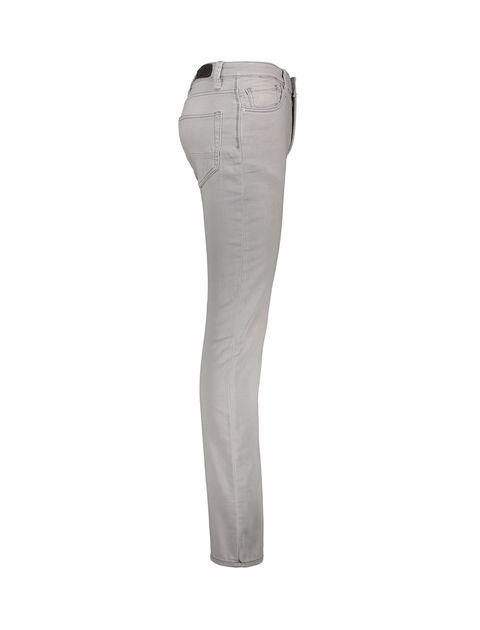 شلوار جین راسته مردانه - طوسي روشن - 3