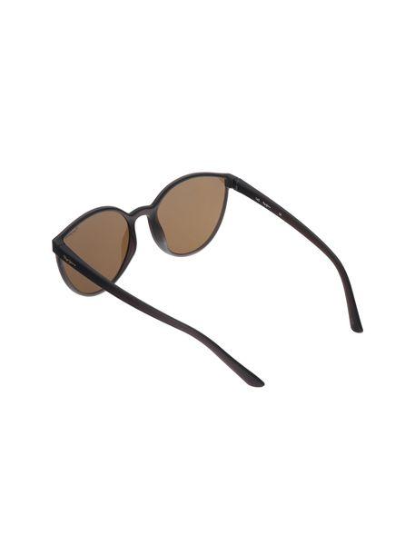 عینک آفتابی پروانه ای زنانه - زغالي - 4