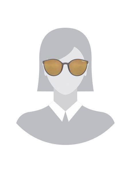 عینک آفتابی پروانه ای زنانه - زغالي - 5