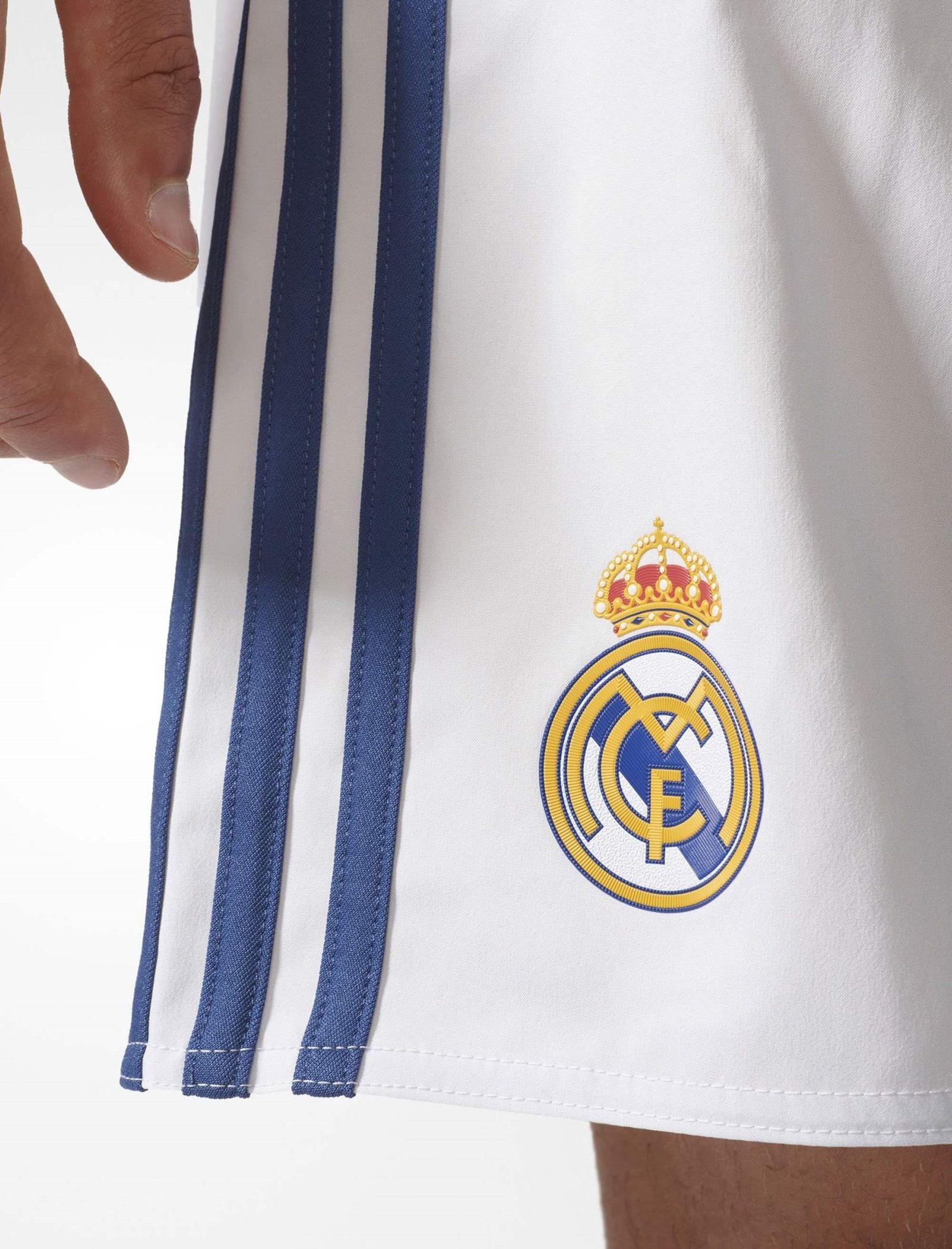 شلوارک ورزشی مردانه آدیداس مدل Real Madrid Home Replica - سفيد - 4