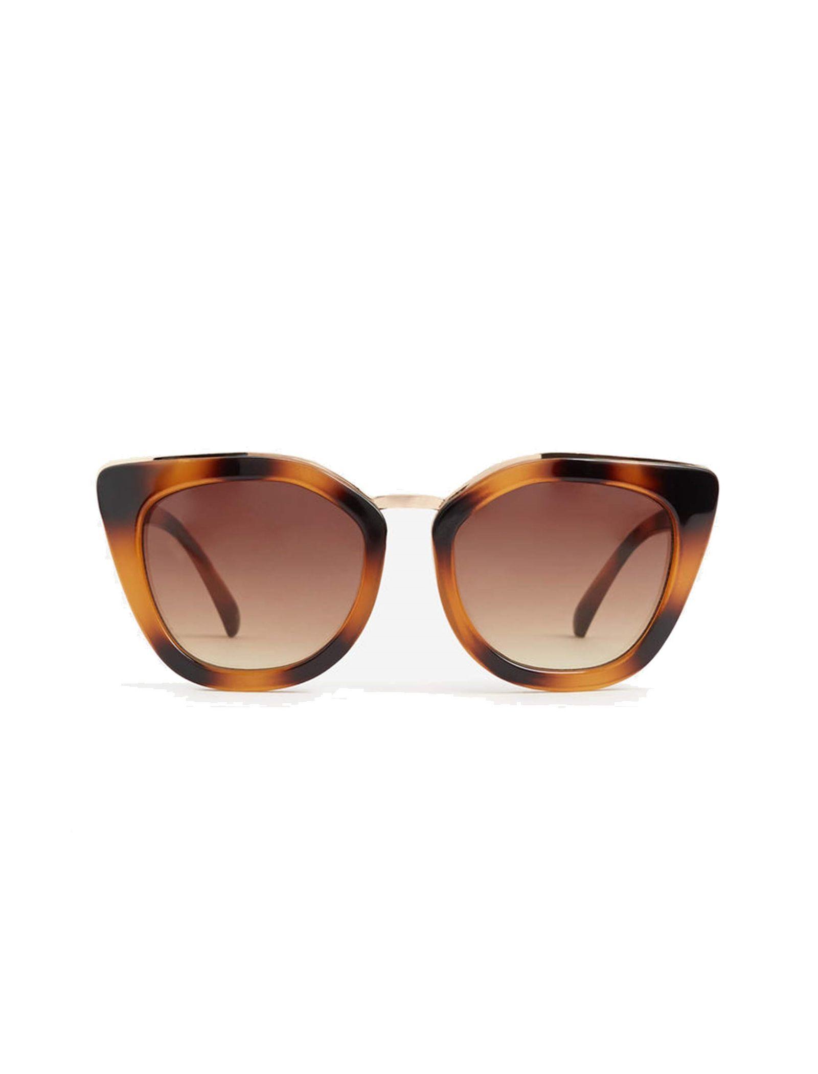 عینک آفتابی زنانه - مانگو - قهوه اي  - 1